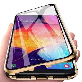 Husa Magnetica 360 cu sticla fata spate, pentru Samsung Galaxy A21s  - 6
