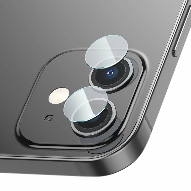 Folie protectie camera pentru iPhone 12 Mini, sticla securizata 9H