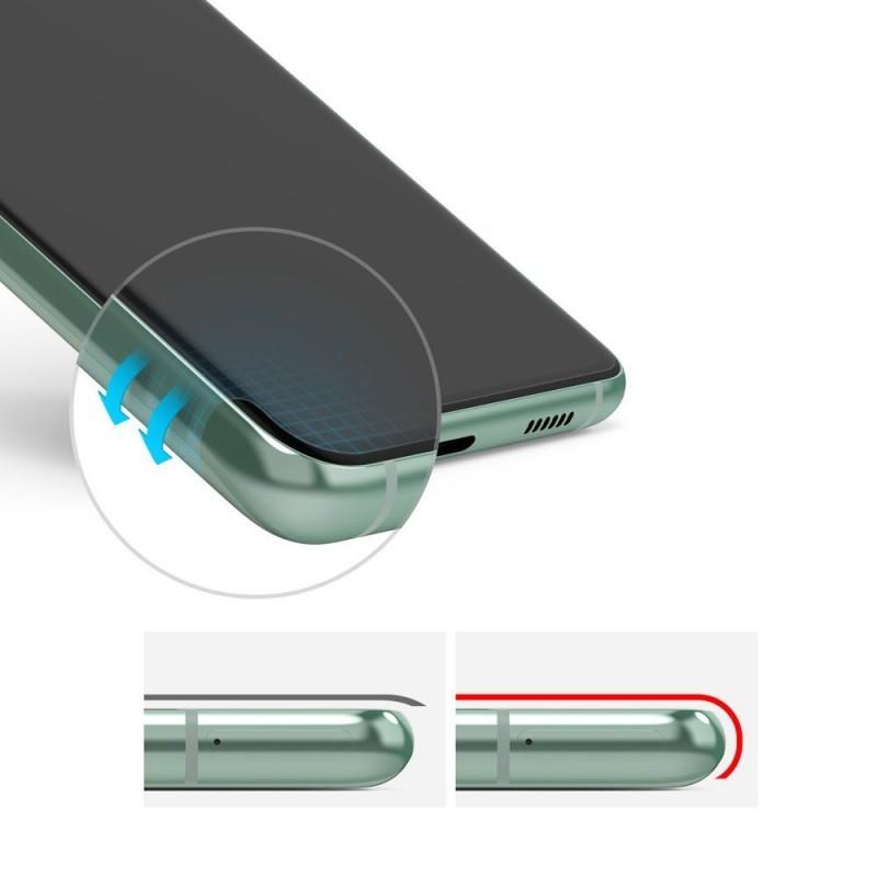 Folie Premium Full Cover Ringke Dual Easy Samsung Galaxy S20 FE / Galaxy S20 FE 5G, transparenta, 2 Bucati In Pachet - 2