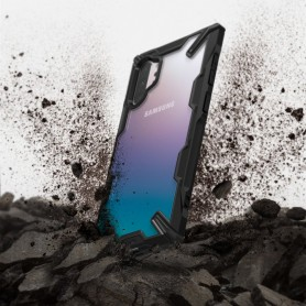 Husa pentru Samsung Galaxy Note 10 Plus, Ringke Fusion X, Neagra Ringke - 3