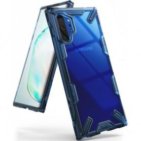 Husa pentru Samsung Galaxy Note 10 Plus, Ringke Fusion X, Albastra Ringke - 1