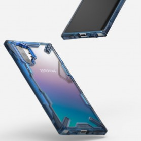 Husa pentru Samsung Galaxy Note 10 Plus, Ringke Fusion X, Albastra Ringke - 3