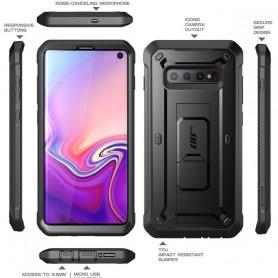 Husa Samsung Galaxy S10 - Supcase  Unicorn Beetle Pro, Neagra Supcase - 7