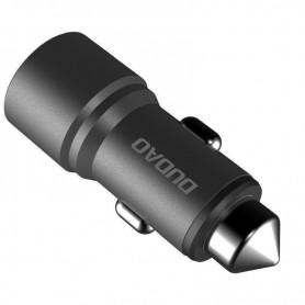 Incarcator Auto Dudao R5 Universal 2x USB 3.1A, Gri Dudao - 1