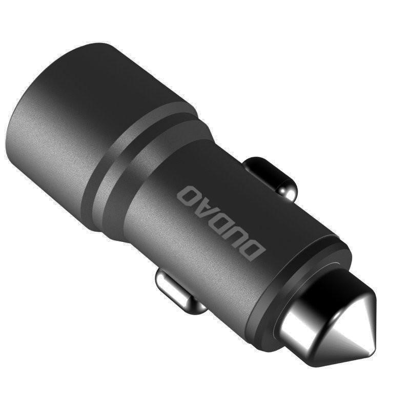 Incarcator Auto Dudao R5 Universal 2x USB 3.1A, Gri