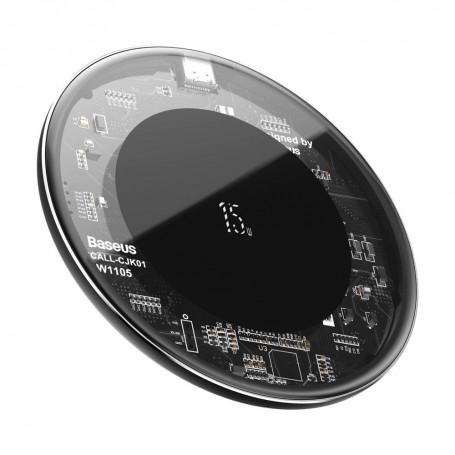 Incarcator Wireless Universal Inductie Baseus Wireless Simple 15W, Transparent la pret imbatabile de 99,99lei , intra pe PrimeShop.ro.ro si convinge-te singur