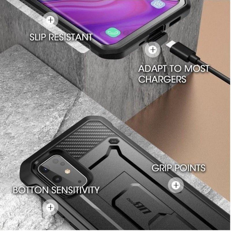 Husa Samsung Galaxy S20+ Plus - Supcase  Unicorn Beetle Pro, Neagra - 3
