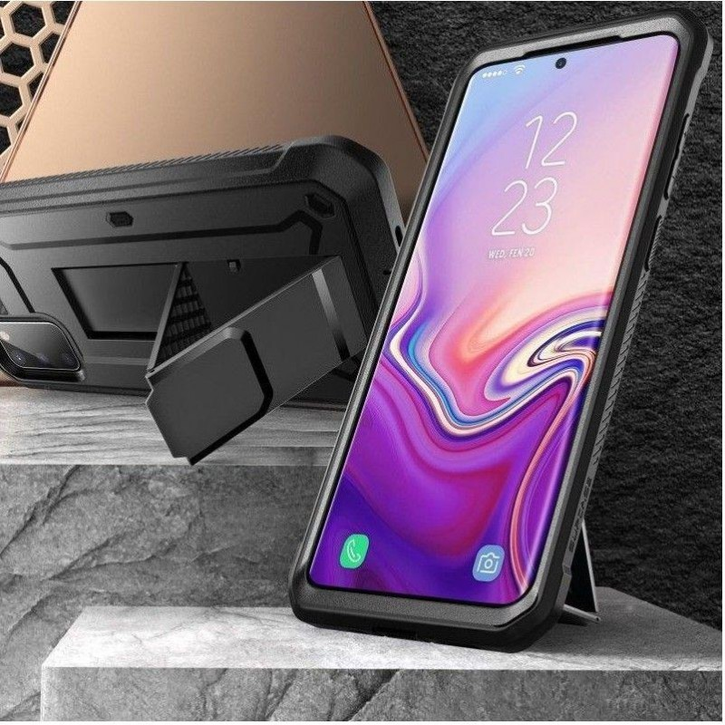 Husa Samsung Galaxy S20+ Plus - Supcase  Unicorn Beetle Pro, Neagra - 2