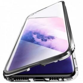 Husa Magnetica 360 cu sticla fata spate, pentru Samsung Galaxy M11  - 1