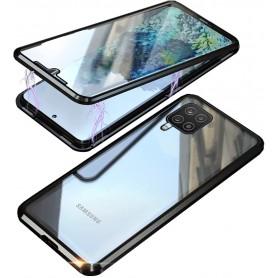 Husa Magnetica 360 cu sticla fata spate, pentru Samsung Galaxy A12  - 1