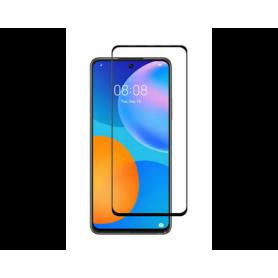Folie Protectie Ecran pentru Huawei P Smart (2021) , Sticla securizata, Negru  - 1