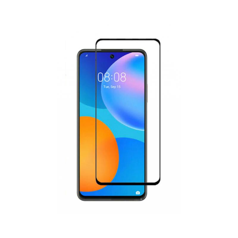 Folie Protectie Ecran pentru Huawei P Smart (2021), Sticla securizata, Negru