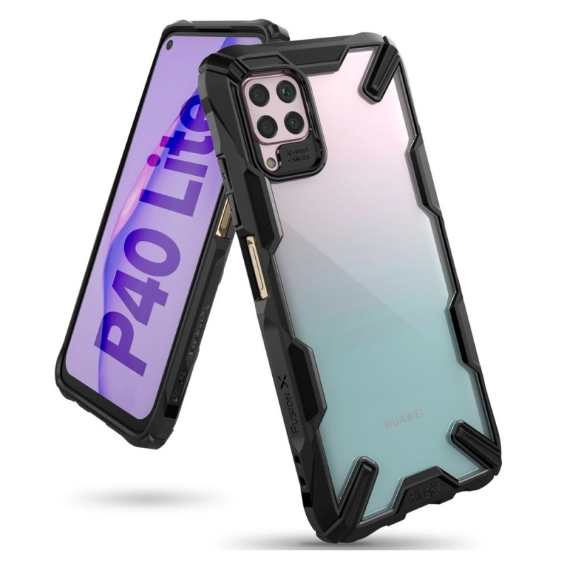 Husa Huawei P40 Lite - Ringke Fusion X, Neagra