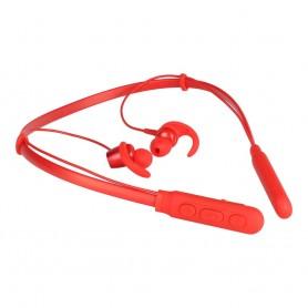 Casti Bluetooth Puridea Sport M03, Rosii  - 2