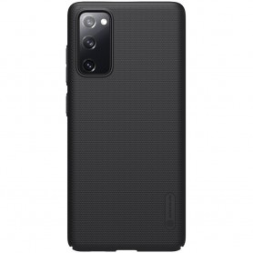Husa Samsung Galaxy S20 FE / S20 FE 5G - Nillkin Super Frosted Shield, Neagra  - 1