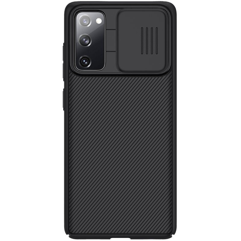 Husa Samsung Galaxy S20 FE / S20 FE 5G - Nillkin CamShield cu Protectie Camera, Neagra  - 1