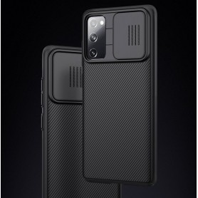 Husa Samsung Galaxy S20 FE / S20 FE 5G - Nillkin CamShield cu Protectie Camera, Neagra  - 4