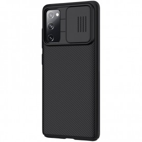 Husa Samsung Galaxy S20 FE / S20 FE 5G - Nillkin CamShield cu Protectie Camera, Neagra  - 5