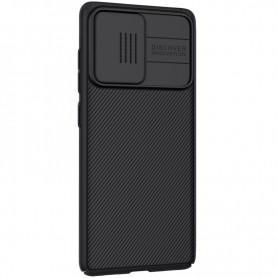 Husa Samsung Galaxy S20 FE / S20 FE 5G - Nillkin CamShield cu Protectie Camera, Neagra  - 6