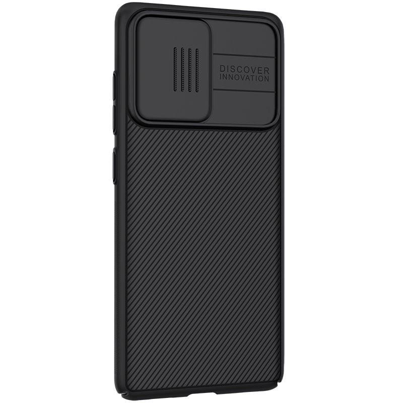 Husa Samsung Galaxy S20 FE / S20 FE 5G - Nillkin CamShield cu Protectie Camera, Neagra - 2