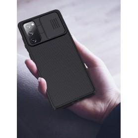 Husa Samsung Galaxy S20 FE / S20 FE 5G - Nillkin CamShield cu Protectie Camera, Neagra  - 8