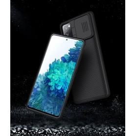 Husa Samsung Galaxy S20 FE / S20 FE 5G - Nillkin CamShield cu Protectie Camera, Neagra  - 9