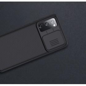 Husa Samsung Galaxy S20 FE / S20 FE 5G - Nillkin CamShield cu Protectie Camera, Neagra  - 10