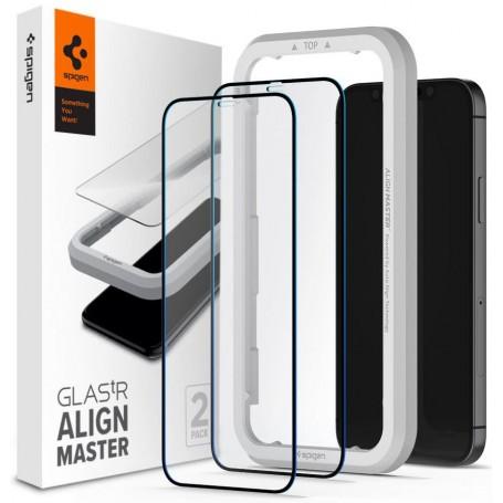 Folie Protectie Ecran pentru iPhone 12 Pro Max - Spigen Alm Glass Fc, 2 Bucati la pret imbatabile de 104,99lei , intra pe PrimeShop.ro.ro si convinge-te singur