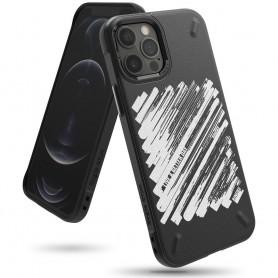 Husa iPhone 12 Pro Max - Ringke Onyx Design Paint, Neagra Ringke - 1