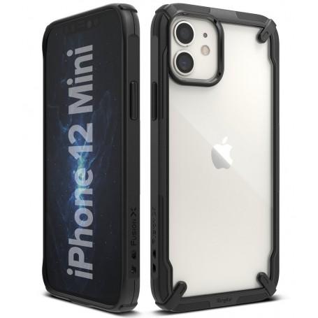 Husa iPhone 12 Mini - Ringke Fusion X, Neagra la pret imbatabile de 86,90lei , intra pe PrimeShop.ro.ro si convinge-te singur
