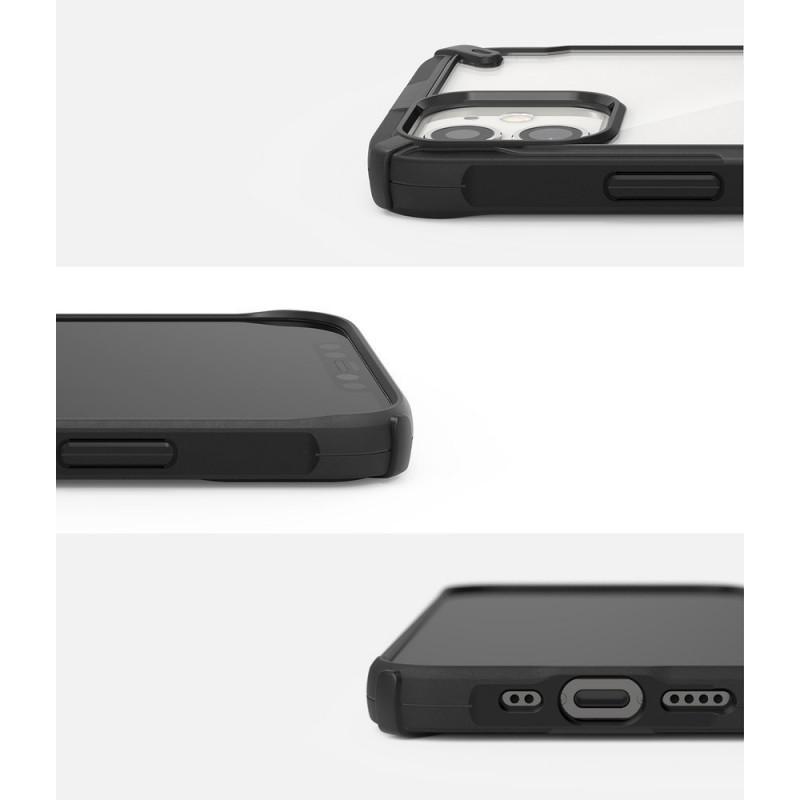 Husa iPhone 12 Mini - Ringke Fusion X, Neagra - 2