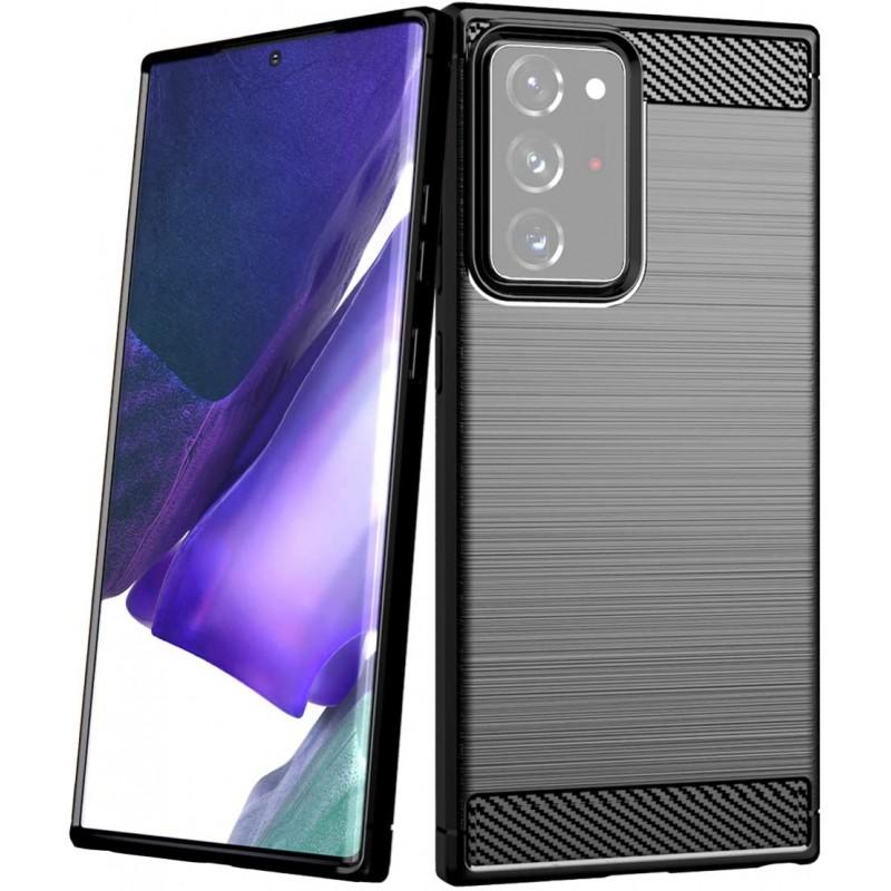Husa Tpu Carbon Fibre pentru Samsung Galaxy Note 20 Ultra / Galaxy Note 20 Ultra 5G