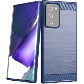 Husa Tpu Carbon Fibre pentru Samsung Galaxy Note 20 Ultra / Galaxy Note 20 Ultra 5G  - 2