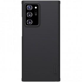 Husa Carcasa Spate pentru Samsung Galaxy Note 20 Ultra / Galaxy Note 20 Ultra 5G - Nillkin Super Frosted Shield, Neagra  - 1