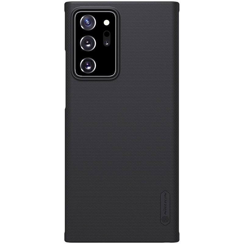 Husa Carcasa Spate pentru Samsung Galaxy Note 20 Ultra / Galaxy Note 20 Ultra 5G - Nillkin Super Frosted Shield, Neagra