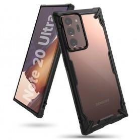 Husa Carcasa Spate pentru Samsung Galaxy Note 20 Ultra / Galaxy Note 20 Ultra 5G - Ringke Fusion X, Neagra Ringke - 1