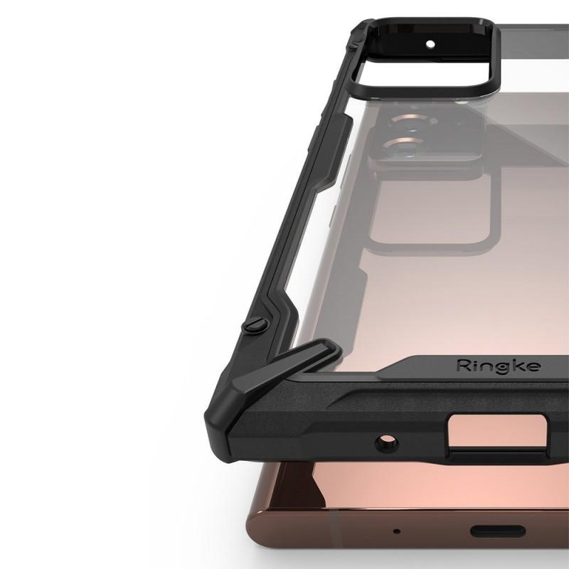 Husa Carcasa Spate pentru Samsung Galaxy Note 20 Ultra / Galaxy Note 20 Ultra 5G - Ringke Fusion X, Neagra - 2