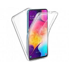 Husa Samsung Galaxy A02s - FullCover 360 (Fata + Spate), transparenta  - 1
