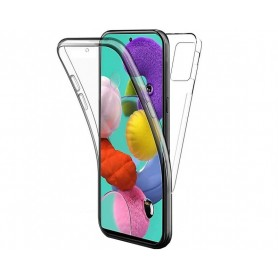 Husa Samsung Galaxy A42 5G - FullCover 360 (Fata + Spate), Transparenta  - 1
