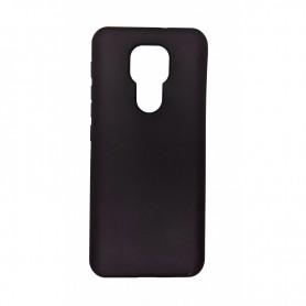 Husa Carcasa Spate pentru Motorola Moto E7 Plus / Moto G9 Play - Matt Tpu - Neagra  - 1