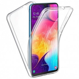 Husa Samsung Galaxy A71 - FullCover 360 (Fata + Spate), Transparenta  - 1