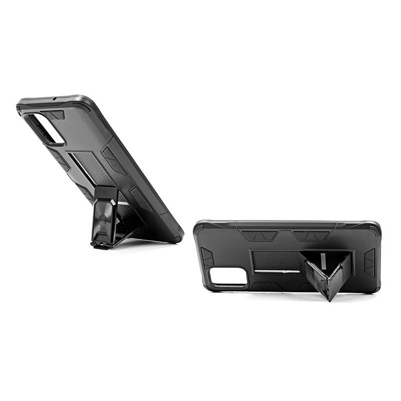 Husa Samsung Galaxy A52 4G / A52 5G - Tpu Hybrid Stand, Neagra