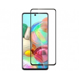 Folie Protectie Ecran pentru Samsung Galaxy A72 5G, Sticla securizata, Negru  - 1