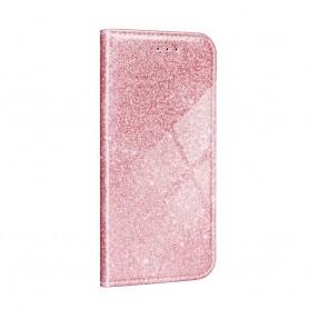 Husa Samsung Galaxy A72 5G - Flip tip Carte - Shining Sclipici  - 4