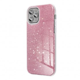Husa Carcasa Spate pentru Samsung Galaxy A12 - Tpu cu Sclipici Shining  - 8