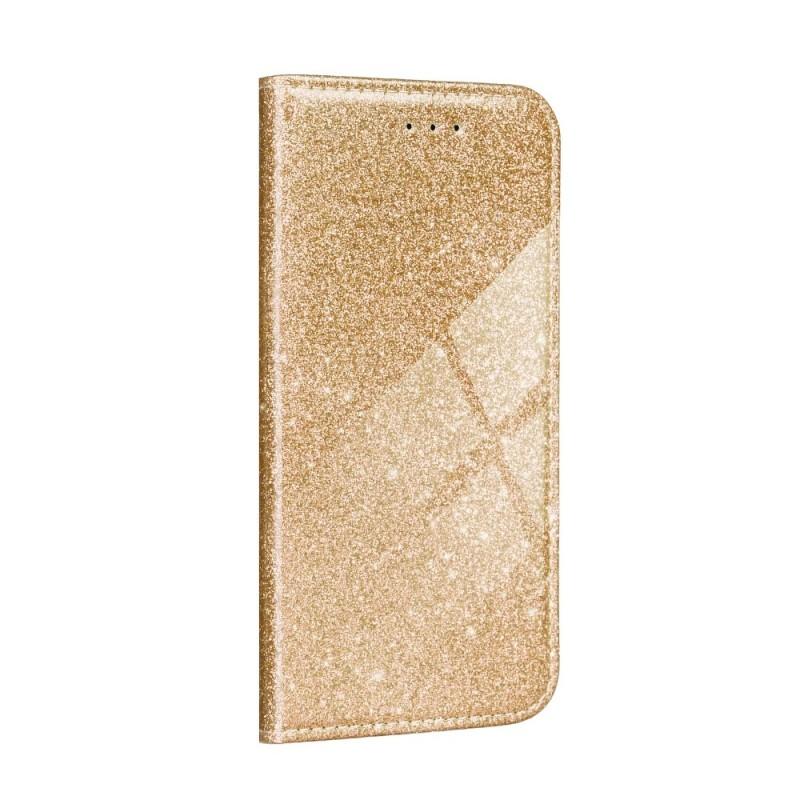 Husa Samsung Galaxy A12 - Flip tip Carte - Shining Sclipici - 2