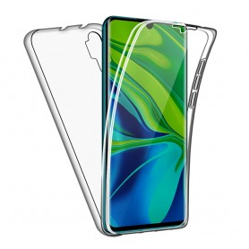 Husa Xiaomi Mi Note 10 / Mi Note 10 Pro - FullCover 360 (Fata + Spate), transparenta  - 1
