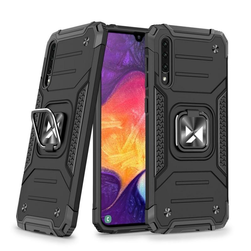 Husa Carcasa Spate pentru Samsung Galaxy A51 - Wozinsky Ring Armor Case Kickstand
