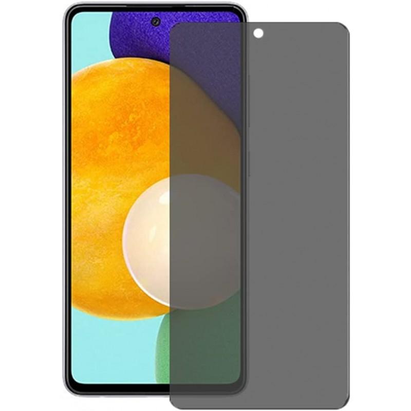 Folie protectie Huawei P Smart ( 2021) , sticla securizata, Privacy Anti Spionaj, Neagra