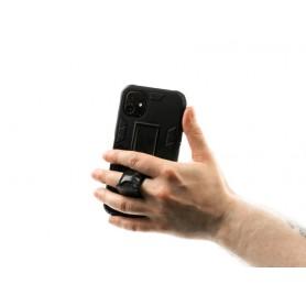 Husa Samsung Galaxy A42 5G - Tpu Hybrid Stand, Neagra  - 6